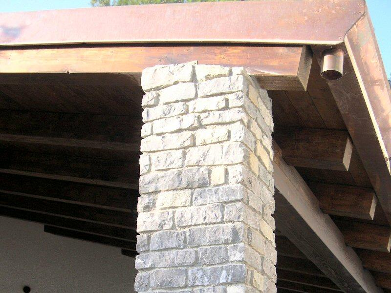 La pietra del sole rivestimenti in pietra per esterni ed - Rivestimento pilastri esterni ...